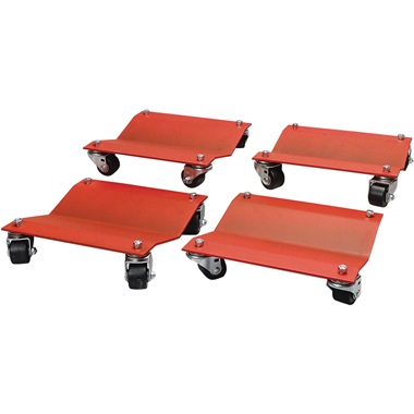 "Heavy-Duty Auto Dolly Set - 12"" x 16"""