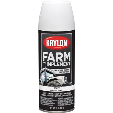 Krylon® Farm & Implement Paint - Gloss White, 12 oz