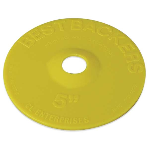 5'' Backing Plate