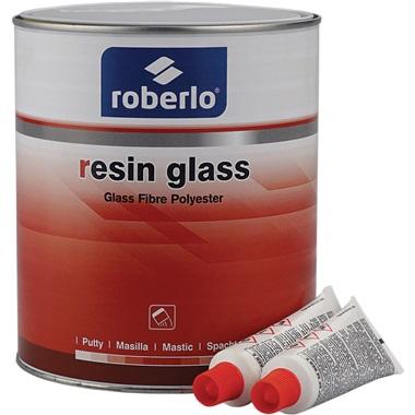 Roberlo® Resin Glass Fiberglass Body Filler, 0.8 Gal