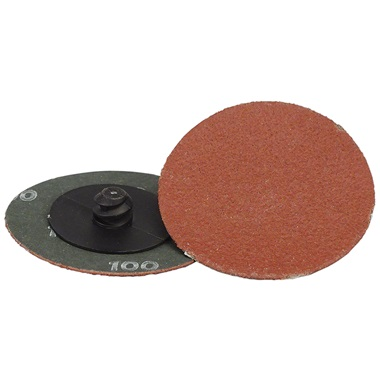 "2"" Quick-Change Sanding Disc - 100 Grit, Ea"