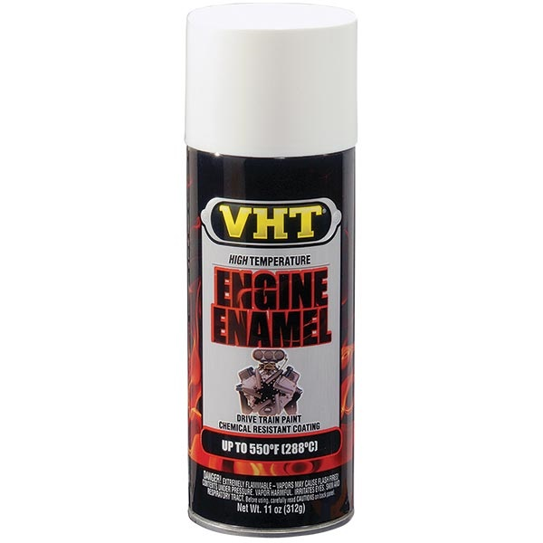 VHT® 550°F Engine Enamel - Gloss White, 11 oz