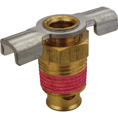 Air Compressor Drain Petcock - 3/8""