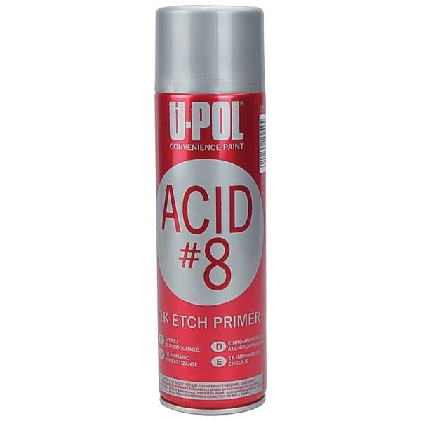 U Pol 174 Acid Etch 8 Primer Gray Tp Tools Amp Equipment