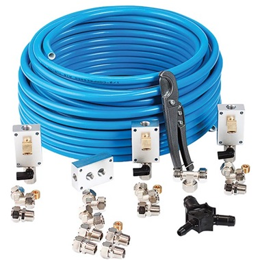 "RapidAir MaxLine 1/2"" Air Piping System"