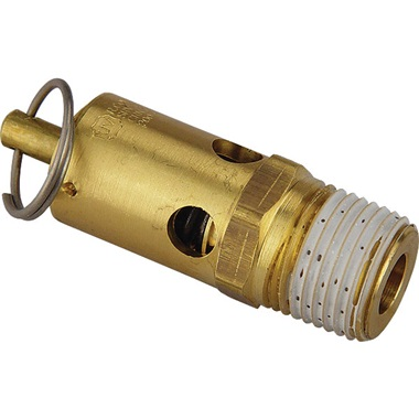 "1/2"" NPT Air Line Safety & Pressure Relief Valve"