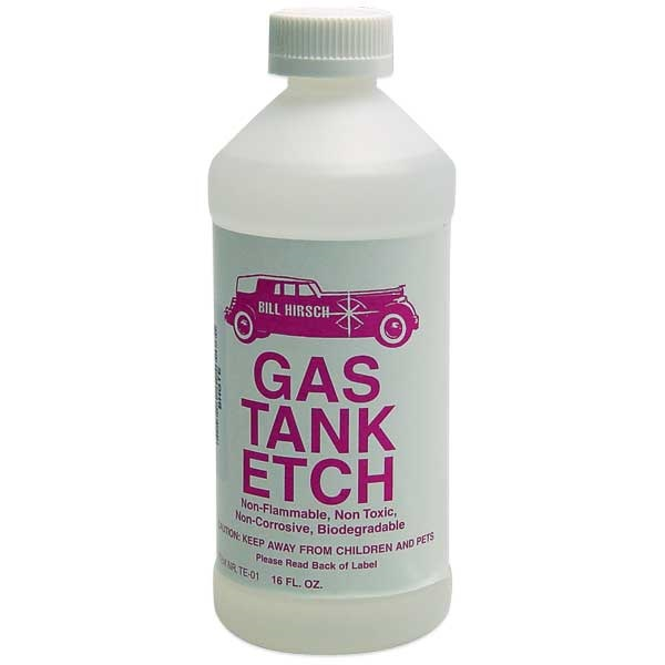 Bill Hirsch Gas Tank Etch