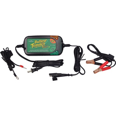 12-V Battery Tender® Plus & Power Tender High-Efficiency Charger - 1.25 Amps
