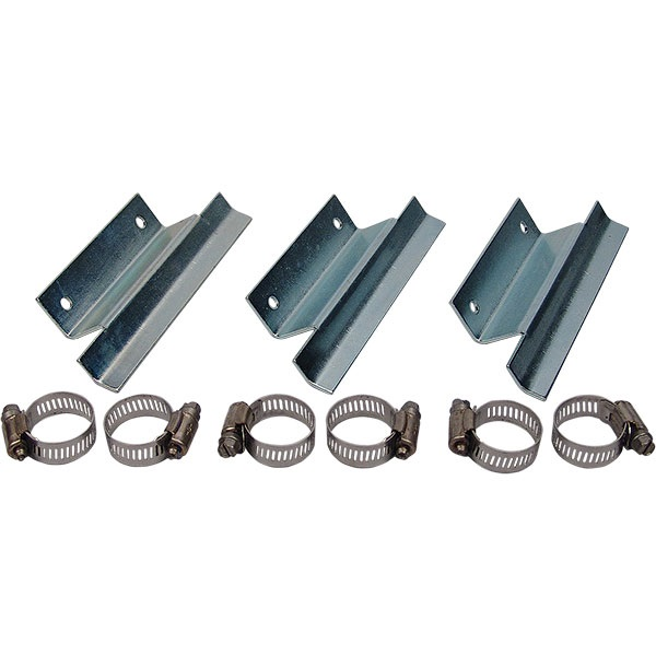 Metal Piping Wall Mounting Bracket Kit