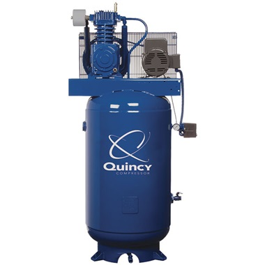 Quincy Heavy-Duty 5HP 2-Stage 80-Gal Air Compressor