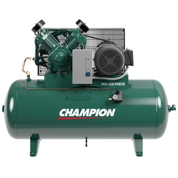 Champion® Heavy-Duty 15HP 2-Stage 120-Gal Air Compressor