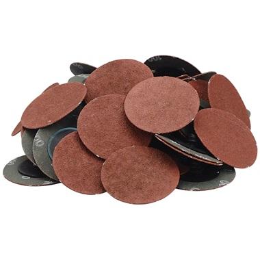 "2"" Quick-Change Sanding Discs - 100 Grit, 50 Pk"