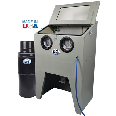 USA SKAT CAT 33V Top-Load Abrasive Blast Cabinet with Vacuum