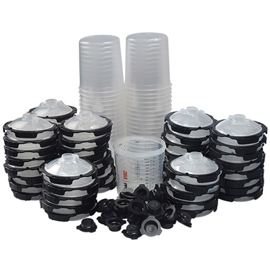3M™ PPS™ 2.0 Replacement Cup, Lids & Liners Kit