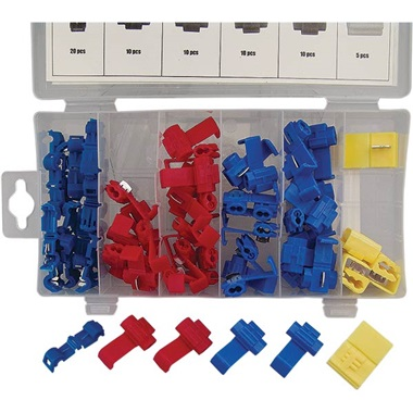 65-Pc Quick Wire Splice Assortment