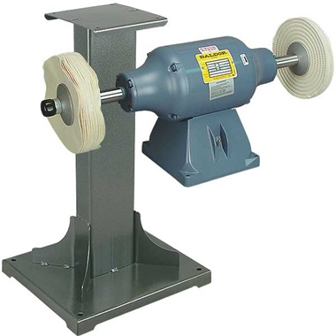 BALDOR® 3/4HP Buffer and 11 Gauge Steel Stand