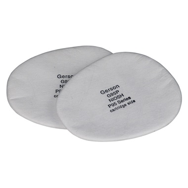 Gerson® Replacement P95 Prefilter Pads, 2 Pk