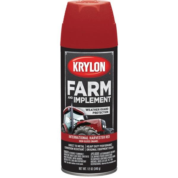 Krylon® Farm & Implement Paint - International Harvester Red, 12 oz