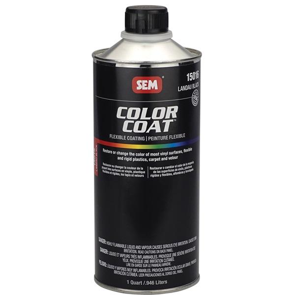 SEM® Color Coat Flexible Coating - Landau Black, Qt