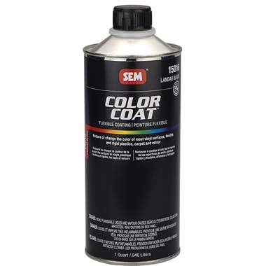 SEM® Color Coat Flexible Coating - Landau Black, Qt
